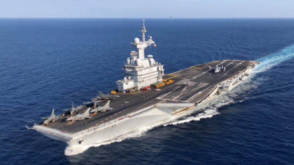 French aircraft carrier Charles de Gaulle (R91)